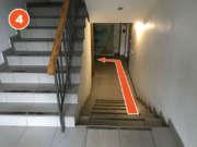 После входа сруститься по лестнице правее и повернуть налево